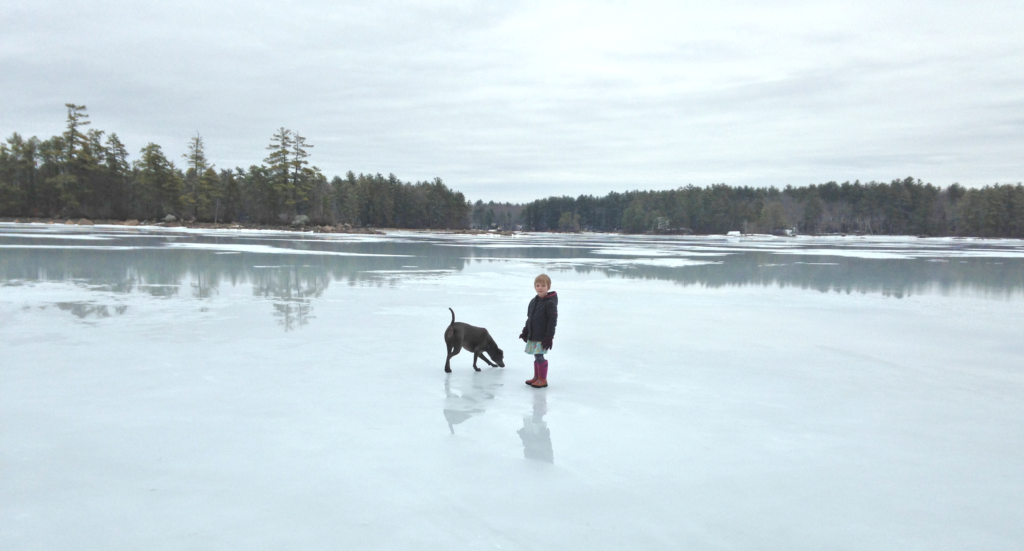 ice-on-lake