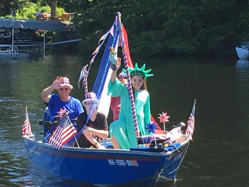 don roberge fourth of july boat