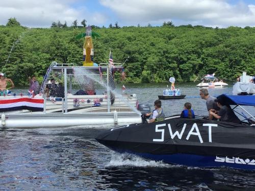 5.1 boat parade 2020 swat gets corona