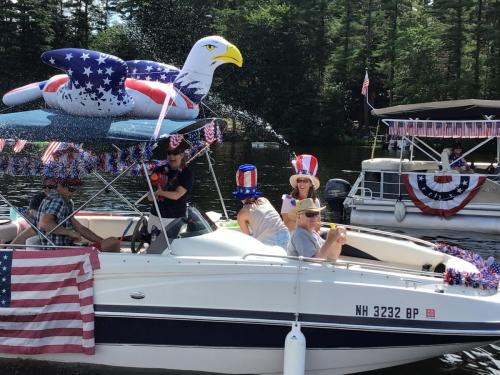6 boat parade 2020 eagle