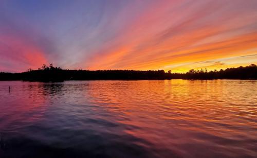 andreax boatxzatx andx sunset