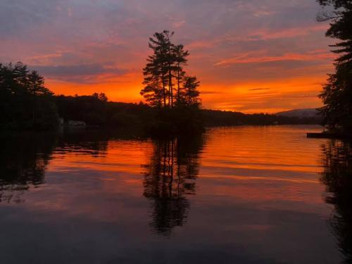 fiery sunset 2