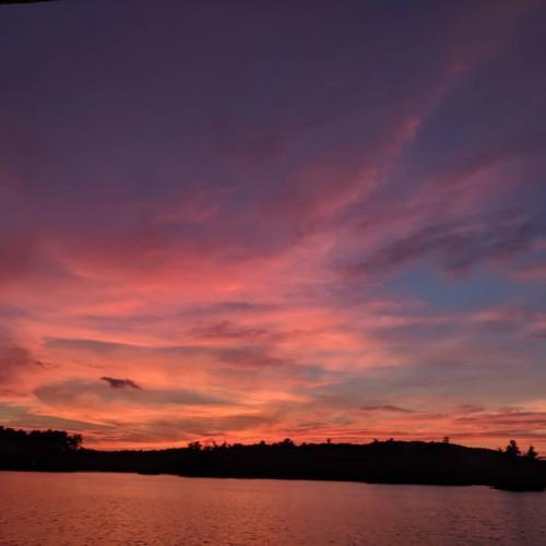 heat wave sunset
