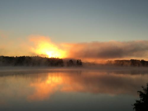 impressionistic sunrise