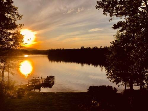 sunset from minyard's