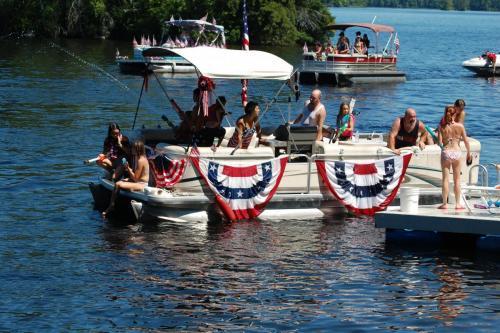 boat parade bunting