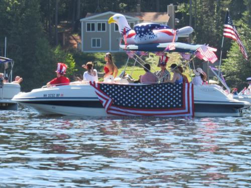 boat parade eagle