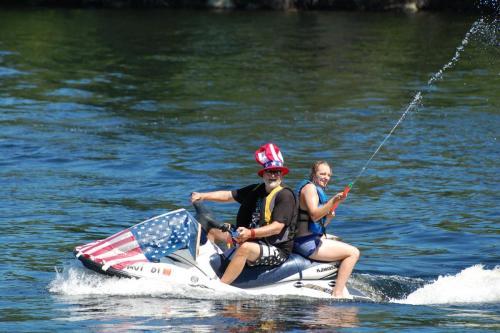boat parade jet ski