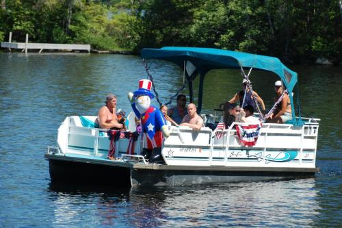 boat parade uncle sam